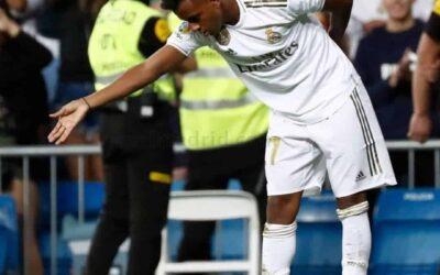 Na estreia em jogos oficiais pelo Real Madrid, Rodrygo marca e quebra marcas