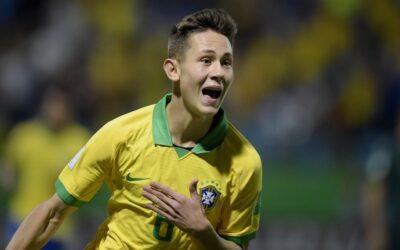 Craque da classificação brasileira no Mundial Sub-17, Patryck é destaque no site da FIFA
