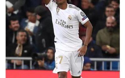 Em noite especial na Champions League, Rodrygo faz três gols e quebra recordes no Santiago Bernabéu