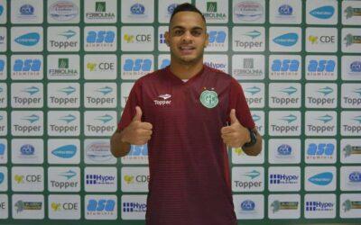 Apresentado pelo Guarani, Juninho mostra confiança e faz elogios: 'Clube de Série A'