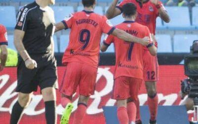 Em estreia na Liga, Willian José brilha com gol e assistência e Real Sociedad vence Celta de Vigo