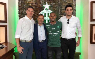 Lateral Gabriel Silva acerta por três anos com o Saint-Étienne: 'Quero levar o clube ao lugar mais alto'