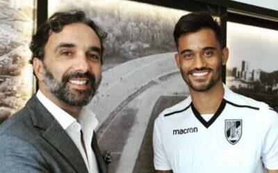 Jubal acerta empréstimo ao Vitória de Guimarães e ressalta vontade de jogar: 'Espero grandes conquistas'