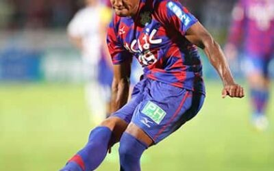 Em cinco jogos, atacante Lins já soma três gols pelo Ventforet Kofu, do Japão