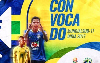 Atacante Vitinho, do Corinthians, é convocado para a Copa do Mundo Sub-17, que será na Índia