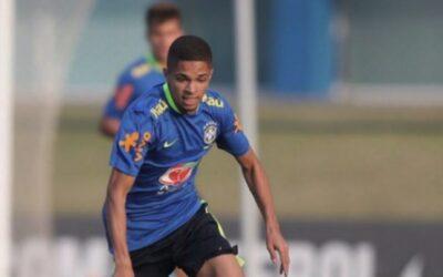 No Mundial Sub-17 com a Seleção Brasileira, Vitinho concedeu entrevista exclusiva ao LANCE!
