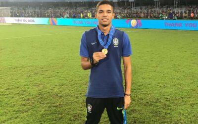 Vitinho termina Mundial Sub-17 na terceira colocação com a Seleção Brasileira