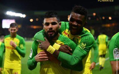 Lima entra, marca nos acréscimos e garante vitória do Nantes sobre o Monaco pelo Francês