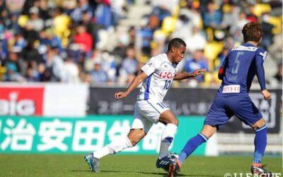 Atacante Lins deixa sua marca em vitória do Ventforet Kofu, do Japão, pela J-League 2