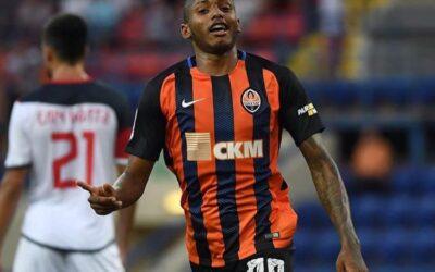 Fernando faz seu primeiro gol pelo Shakhtar em goleada no Campeonato Ucraniano