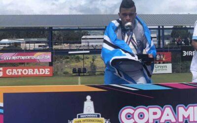 Parabéns, Caique! Com o Grêmio, atleta foi campeão da Copa Mitad Del Mundo Sub-18