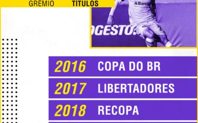 Disputa pela titularidade, Fla pressionado e título inesquecível: Marcelo Oliveira fala sobre sua vida no Grêmio ao Goal