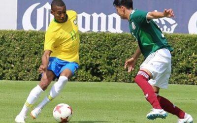 Atacante Fernando é titular e dá assistência em vitória da Seleção Brasileira Sub-20 sobre o México