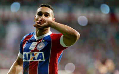 Edigar Junio mantém boa fase e marca mais um gol em triunfo do Bahia no Brasileirão