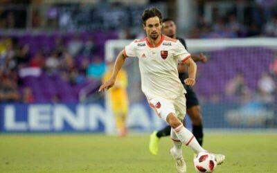 Em primeiro torneio com a camisa do Flamengo, Rodrigo Caio conquista a Florida Cup