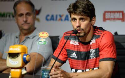 Grande contratação da temporada, Rodrigo Caio é apresentado no Flamengo