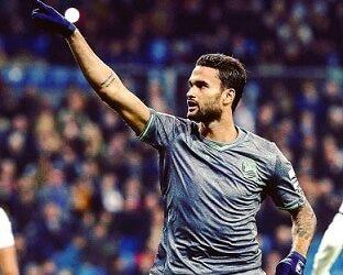 Prestes a completar 100 partidas pela Real Sociedad, Willian José é destaque no Lance!