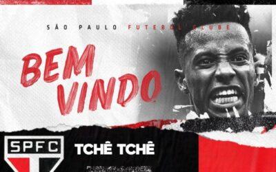 De volta ao Brasil, Tchê Tchê é o novo reforço do São Paulo