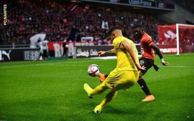 Lateral-esquerdo Lima fecha temporada com maior número de assistências pelo Nantes