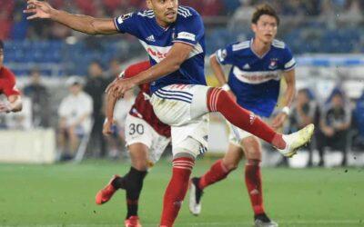 Edigar Junio volta a marcar e é um dos artilheiros do Campeonato Japonês