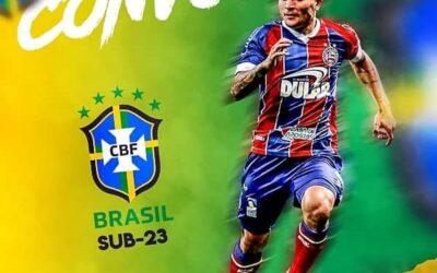 Destaque do Bahia, Artur é convocado para a Seleção Olímpica
