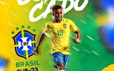 Rodrygo é convocado para a Seleção Brasileira Sub-23