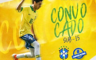 Rodriguinho, meio-campista do São Paulo, é convocado para o Sul-Americano Sub-15