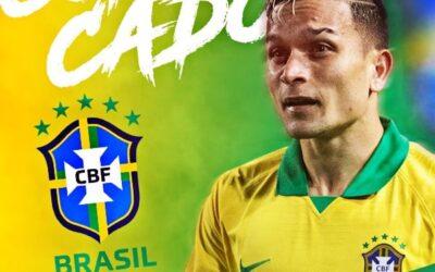 Artur, meia-atacante do Bahia, é novamente convocado para defender a Seleção Brasileira sub-23