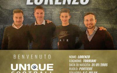Lorenzo, goleiro do Milan, é o novo cliente da Un1que Football