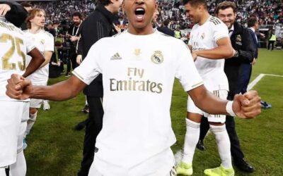Rodrygo conquista primeiro título pelo Real Madrid e é campeão da Supercopa da Espanha