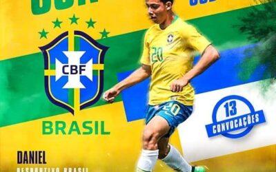 Atacante Daniel é convocado para a Seleção Brasileira Sub-16